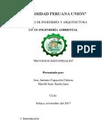 Informe de Textileria