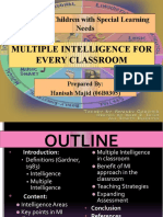 Multiple Intelligence for Every Classroom