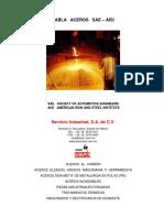 Aceros SISA Tabla de Aceros SAE AISI Servicio Industrial S.A. de C.V..pdf