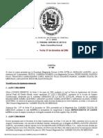 Winston Oraa TSJ Decisiones  Cuenta de Salas - Sala Constitucional