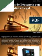 Ramiro Helmeyer - Controles de Presencia Con Validez Legal