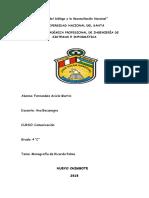 Monografia Ricardo Palma