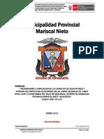 Informe Topografico Valle