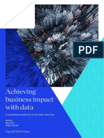 Achieving Business Impact With Data