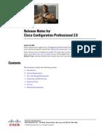 Ccp Rel Notes