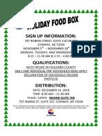fc 2018 capca holiday food box flyer w spa