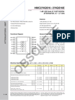 HMC274 Datasheet