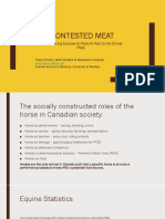 Contested Meat Animals and Us