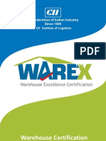 Warehouse Certification Brochure