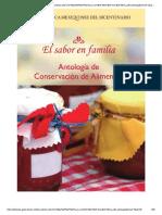 Antologia de Conservacion de Alimentos