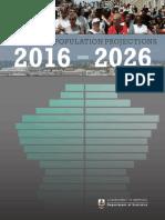 Bermuda's Population Projections 2016-2026