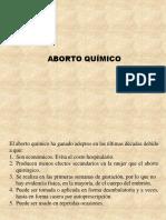 Aborto químico