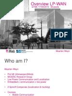 LPWAN Overview