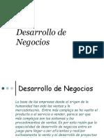 B.- Desarrollo de Negocios