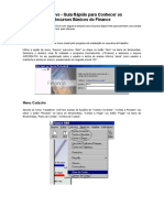 TestDrive - Recursos Basicos Do Finance