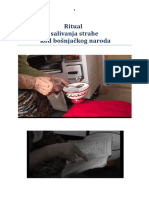 Ritual salivanja strahe kod bosnjackog naroda - Raif Esmerovic