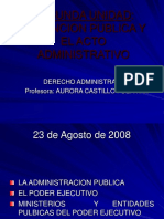 23 Ago La Funcion Publica y El Acto Administrativo