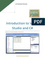2-Introduction to Visual Studio and CSharp.pdf
