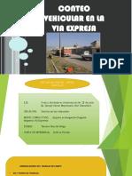 278584749 Exposicion Aforo Vehicular via Expresa Pptx
