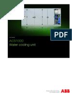 3BHS204366 E01 ACS1000 1K W WaterCoolUnit STD User Manual