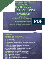 99887653 Methodes de Calcul de Radiers