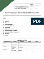 003.-PRO Aseo a Traspaso CV 202 a CV 203 Puente Apilador (Desatollo)