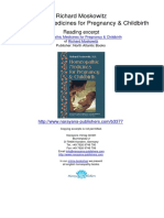 Homeopathic Medicines for Pregnancy Childbirth Richard Moskowitz