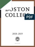 BC 1819 Undergraduate Catalog