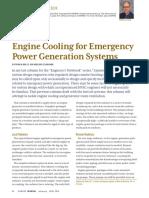Emergency Generator Cooling