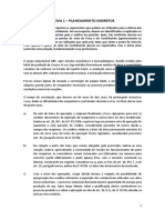 IBDT - Curso de Especialização - Provas 1 - Planejamento Indiretos