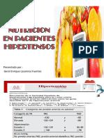 Nutricion en Hipertension