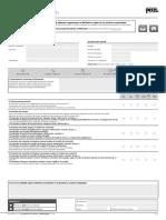 Verificación EPI Connecteur