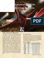Otherworldly Patron the Ancient Dragon