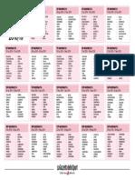 Calendario SerieA 2018 19