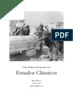 Manual Prático de Introdução Aos Estudos Clássicos
