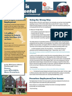 2018 Housing is Fundamental report by United Way of Peterborough and District