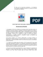 Declaracion Final y Resoluciónes en La XXXVI Reunion COPPPAL en Panama 2018