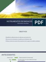 Instrumentos de Radiación Solar Ppt