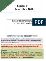 Sesion 9 Matematicas Financieras 10 de Octubre 2018