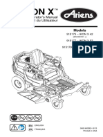 Ariens Ikon X Lawn Tractor Owner's Manual
