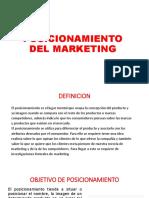 Posicionamiento Del Marketing