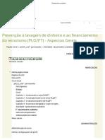 Questionário Avaliativo GABARITO (Com Cabeçalho) - ESAF - Prevenção à Lavagem de Dinheiro e Ao Financiamento Do Terrorismo (PLDFT)
