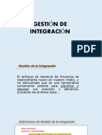Gestion de La Integracion