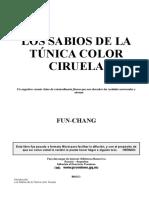 FUN-CHANG - Los Sabios de La Túnica Color Ciruela