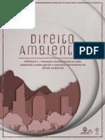 Direito Ambiental módulo 1 parte 1