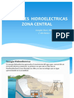 Centrales Hidroelectricas Zona Central