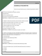 6 Desarrollo psicomotor