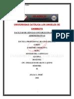 Resumen Capitulo i -Auditoria Tributaria