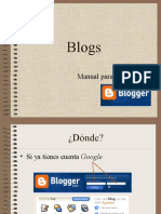 Resumen Manual Blogger