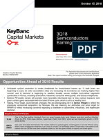 3Q18 Earnings Preview